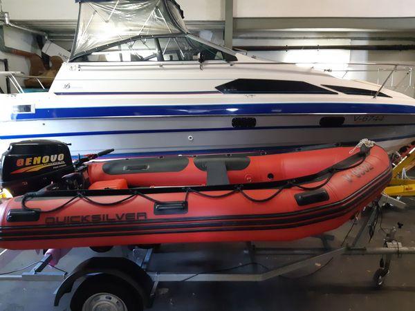 Quicksilver Schlauchboot mit 25 PS