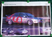 Audi A4 Supertouring Sammelposter