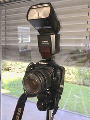 Canon EOS 550D mit Zubehör