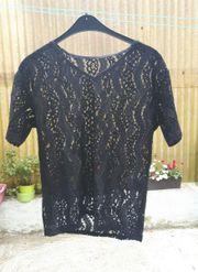 Shirt Netz schwarz sehr edel