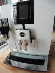 JURA Kaffeevollautomat J6 Klavier weiß
