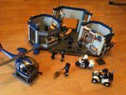Playmobil Polizei Polizeistation Hubschrauber Quad