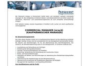Commercial Manager m w d