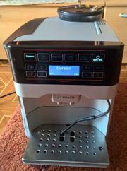 Bosch VeroAroma Kaffeevollautomat silber TES603F1DE-defekt