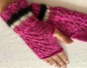 Pulswärmers Handschuhe oben ohne für