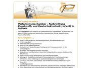 Verfahrensmechaniker - Fachrichtung Kunststoff- und Kautschukt