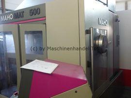 Produktionsmaschinen - Bearbeitungszentrum Mahomat 500 IKZ