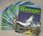 Zeitschrift Berge 80er 90er Jahre