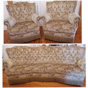 Vintage Couchgarnitur 3-1-1 wie neu - Federkern