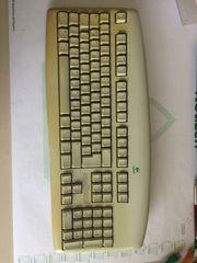 Tastatur PC Funktastatur Funkmaus Logitech
