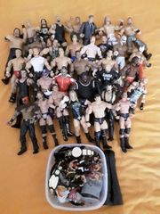 Wresling Figuren WWE WWF plus