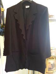 Blazer Jacke Jacket Schwarz Gr