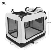 Faltbare Hundetransportbox GR XL in