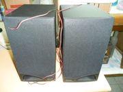 Lautsprecherboxen 2 Stück Philips schwarz