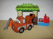 Lego Duplo Cars Hooks Schuppen