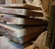 Kirschbaum Stamm gesägt unbesäumt 290cm