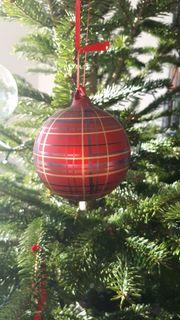 Ikea Christbaumkugel Glas Weihnachtsbaum Schmuck