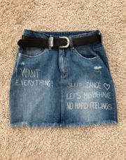 Vintage Jeans Rock
