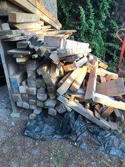 Holz und Balken