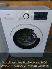Waschmaschine Neuware