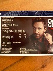 David Guetta Konzertkarte