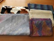 2 Pakete verschiedener Stoffe neu