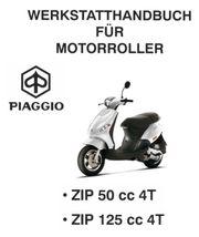 Werkstatthandbuch WHB Piaggio ZIP 50