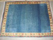 Blauer Gabbeh Teppich
