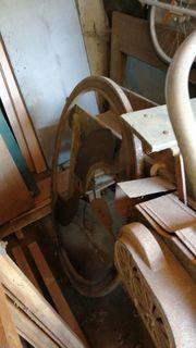 Antike Strohschneidemaschine