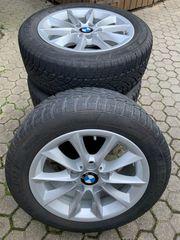 BMW Winterreifen auf Alu Felgen
