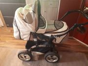 Kinderwagen mit Babyschale