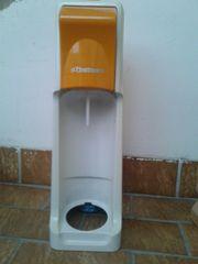 Soda-Stream-Orange--Zylinder mit 2 unbenutzten
