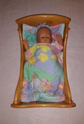 Zapf Creation Puppe im Holz: Kleinanzeigen aus Nürnberg Thon - Rubrik Puppen