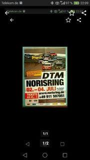 DTM Norisring 2010 Plakat Poster