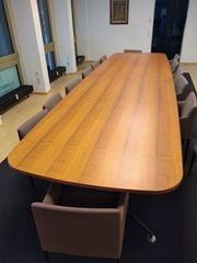 Verkaufe Konferenztisch 14 dazu passende