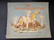 Kinderbuch 1946 Der Geburtstagskuchen