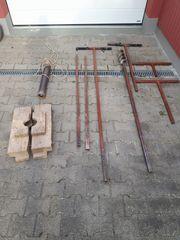 Brunnenbohrer mit Schlämmer Plunscher