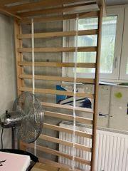 Hochbett für Kinder-Massivholz -90x200cm
