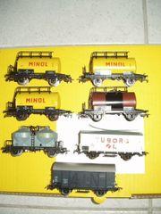 PIKO HO 7 neue Güterwagen