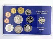 1980 BRD - Kursmünzensatz - StaatlicheMünze Karlsruhe -