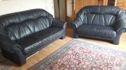 Couchgarnitur 3er und 2er Kunstleder