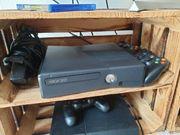 xbox 360 slim mit controllern
