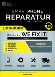 Smartphone Reparatur Handyreparatur Displayschaden usw