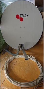SAT-Anlage Triax inkl HD Satelliten-Receiver