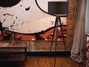 Stehlampe schwarz 156 cm STILETTO