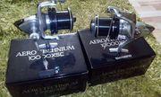2x Shimano Aero Technium 10000XSC