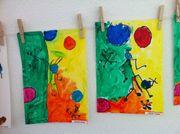 Gutschein - Ferienprogramm - Kinder malen
