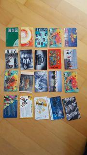 Telefonkarten gebraucht für Sammler