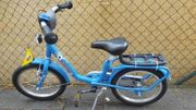 Puky Z6 Kinder-Fahrrad blau Fußball