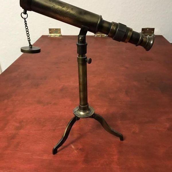 Vintage Teleskop Einzigartig